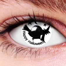black contact lens color