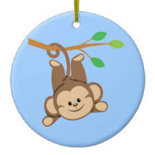 monkey ornaments keepsake ornaments zazzle