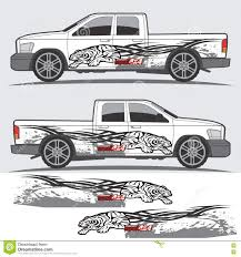 Vintage Ford Truck Decals - truck and vehicle decal graphic design stock vector image 74351758