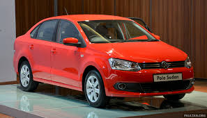 volkswagen polo red 2014 volkswagen polo sedan ckd launched u2013 rm86k image 207428