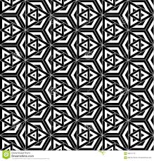vector modern seamless pattern sacred geometry stock vector
