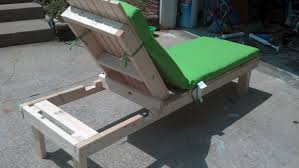 Diy Patio Furniture Plans Patio Lounge Chair Diy Video And Photos Madlonsbigbear Com
