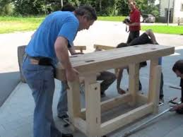 Traditional Workbench Woodworking Plan Free Download by Assembling A Traditional Workbench Youtube