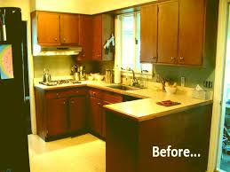 Painted Old Kitchen Cabinets Painting Old Kitchen Cabinets Before And After Home Design