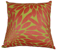 wholesale 18 x 18 u201d fuchsia u0026 yellow cotton cushion cover with