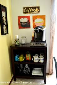 cute kitchen coffee bar ideas top creative coffee stations for