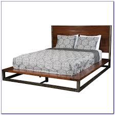 Platform Bed Slats Queen Size Metal Platform Bed Frame With Wood Slats Bedroom