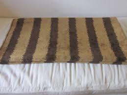 sumptuous chenille faux bois bark striped home decor fabric
