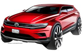 volkswagen tiguan 2016 red volkswagen u0027s tiguan will morph into a more family friendly model