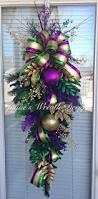 345 best mardi gras wreaths images on pinterest mardi gras