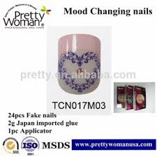 kinds of nail tips with import glue nails fake nail new design for