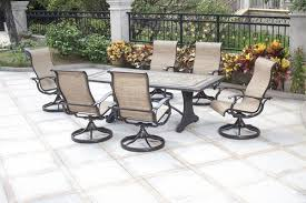 Barcelona Outdoor Furniture by Sterling Home U0026 Patio Barcelona 7 Piece Dining Patio Set At Menards