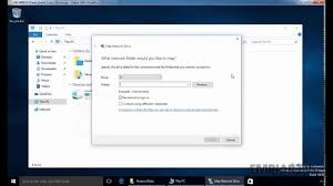 Map Network Drive Mac How To Map A Network Drive In Windows 10 Youtube
