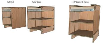 Cabinet Toe Kick Dimensions How To Build Frameless Base Cabinets