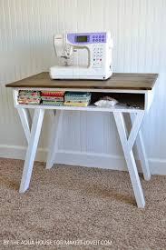 Modern Desk by Diy Farmhouse Modern Desk With Open Front Storage Cubby Make