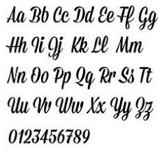 fancy script alphabet uppercase and lowercase cool alphabet