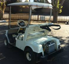 used golf cart listing johnson manufacturing