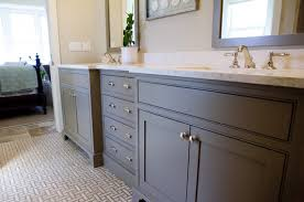mesmerizing white painted bathroom floor cabinet completed with