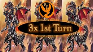 three red eyes flare metal dragon first turn youtube