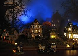 spooky town dept 56 lemax spooky town display 2012 flickr
