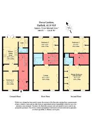 Hatfield House Floor Plan by 4 Bedroom Town House For Sale In Horsa Gardens Hatfield