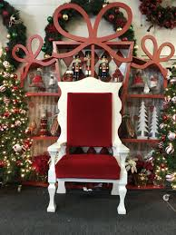 santa chair rental santa sets to go