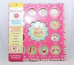 school memories album school years sweet memories deluxe album girl book pocketful