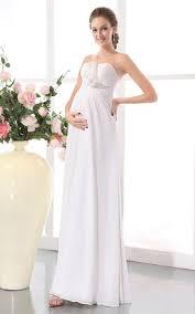 flowing wedding dresses cheap maternity wedding dresses pregnancy wedding dresses june
