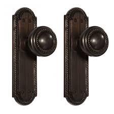 Cheap Interior Door Handles Twisted Rope Door Knob Plate Set Dummy Hardware