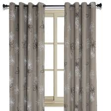 buy black and beige curtains from bed bath u0026 beyond