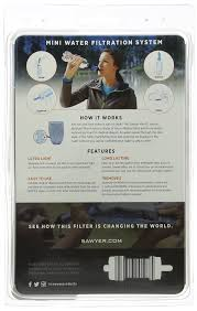 amazon com sawyer products mini water filtration system