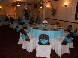 chair covers for baby shower aquamarine setup ideal for wedding or baby shower halls brown