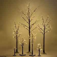 Lit Branches Led Pre Lit Cherry Blossom Tree Light Floor Branches Lamp Home