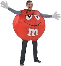 red m u0026m inflatable costume halloween costumes other