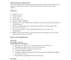 skills for resume exle casino vip host resume sle radio template restaurant hostess