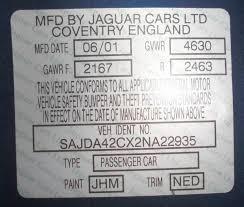 paint and trim codes jaguar forums jaguar enthusiasts forum