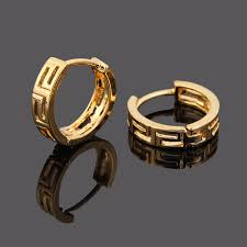 golden earrings aliexpress buy bangrui fashion ear cuff 24k golden earrings