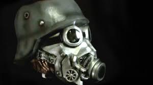 Halloween Costume Gas Mask Chemical Warfare Gasmask Latex Halloween Mask