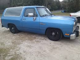 lowered dodge ramcharger sport utility classifieds vehicle