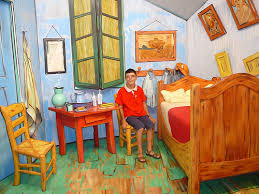 la chambre dans la chambre de gogh in gogh s bedroom a photo on