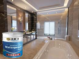 tuba waterbased waterproof paint for roof basement use waterproof