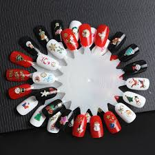 christmas nail sticker picture more detailed picture about new