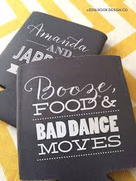 wedding koozies 18 of the funniest wedding koozies that guests will want to keep