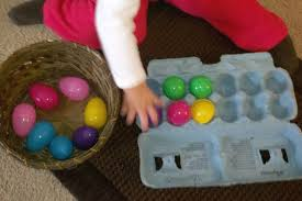 Easter Decorations Using Plastic Eggs by Peaceful Parenting 12 Activities Using Plastic Easter Eggs And