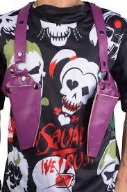 xcoser squad joker shoulder gun holster movie props