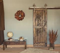 Vintage Interior Door Hardware 8 Ft Rustic Vintage European Sliding Steel Barn Wood Door