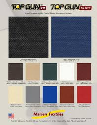 marlen textiles top gun fr fabric colors