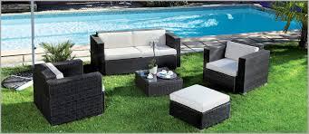 canape de jardin en resine tressee pas cher terrific salon de jardin resine tressée pas cher décoration 70458
