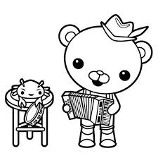 octonaut coloring pages 294 best octonauts images on pinterest animation birthday ideas