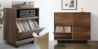 Lp Record Cabinet Furniture Nice Vinyl Record Storage Furniture U2013 Home Designing